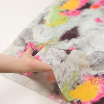 リネン×シェル(ピンク&ライム)×薄キャンバス_全3色 サムネイル5