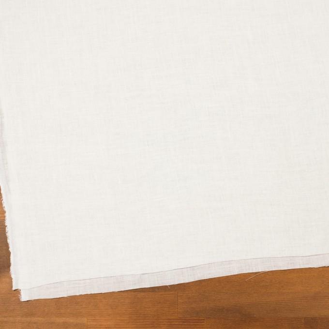リネン×無地(オフホワイト)×薄キャンバス・ワッシャー イメージ2