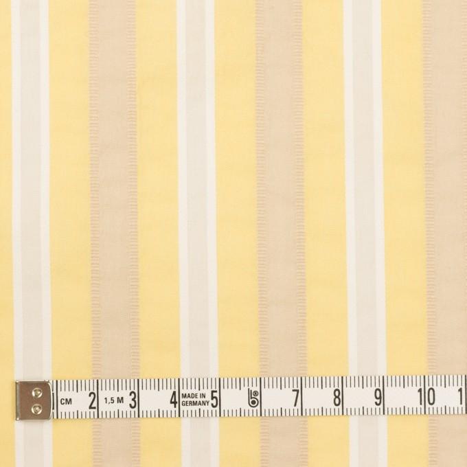 コットン&ポリエステル×ストライプ(イエロー)×ローンジャガード_全3色 イメージ4