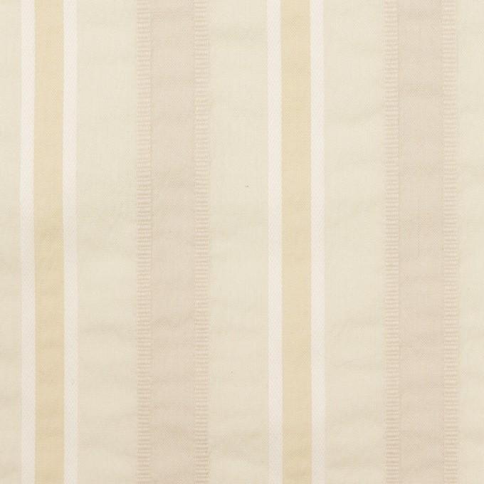 コットン&ポリエステル×ストライプ(アトモスグリーン)×ローンジャガード_全3色 イメージ1