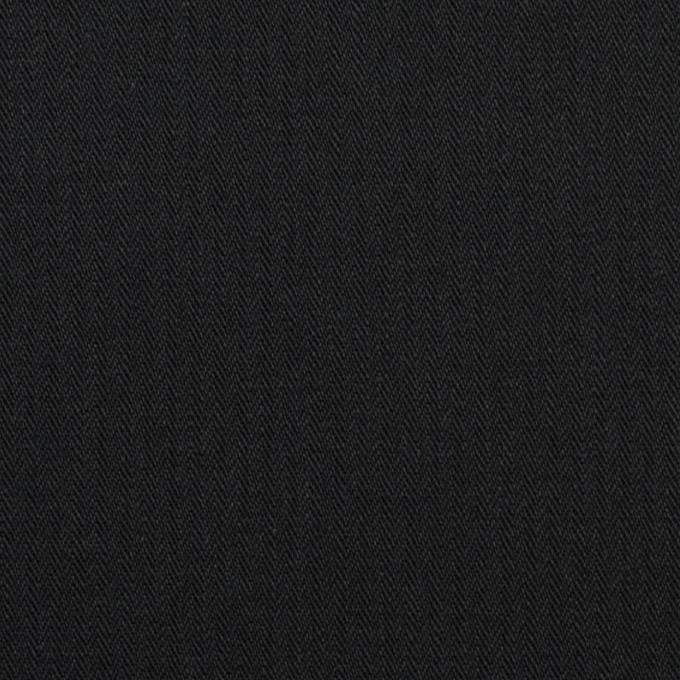 コットン×無地(ダークネイビー)×ヘリンボーン イメージ1