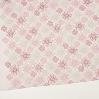 コットン×フラワー(モーブ)×オーガンジー刺繍_全4色 サムネイル2