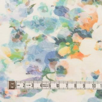 コットン×フラワー(ブルー)×天竺ニット_全3色 サムネイル4
