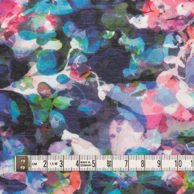 コットン×フラワー(ネイビー)×天竺ニット_全3色 イメージ4