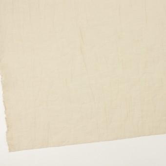 コットン&ナイロン×無地(ベージュ)×オーガンジー・ワッシャー_全3色 サムネイル2