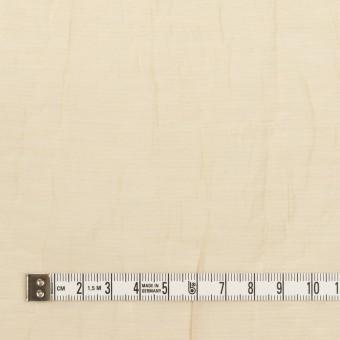 コットン&ナイロン×無地(ベージュ)×オーガンジー・ワッシャー_全3色 サムネイル4