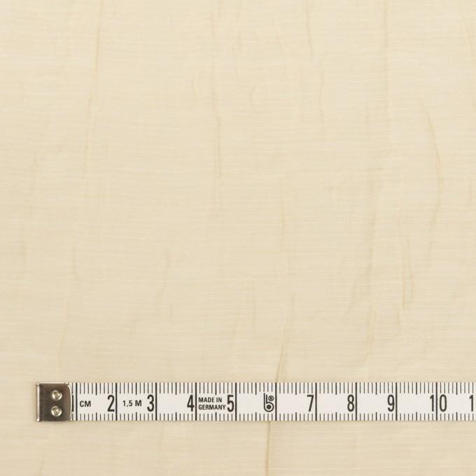 コットン&ナイロン×無地(ベージュ)×オーガンジー・ワッシャー_全3色 イメージ4