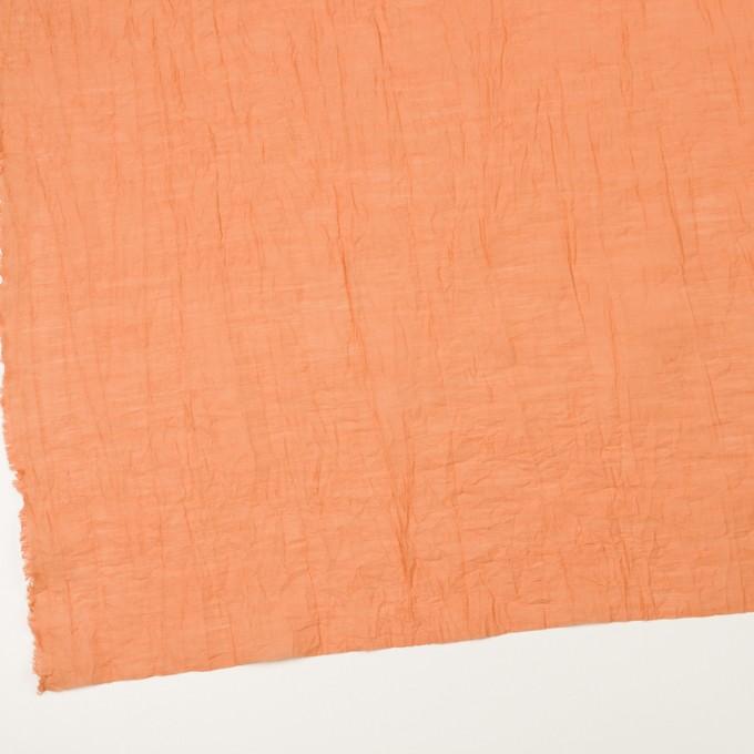 コットン&ナイロン×無地(オレンジ)×オーガンジー・ワッシャー_全3色 イメージ2