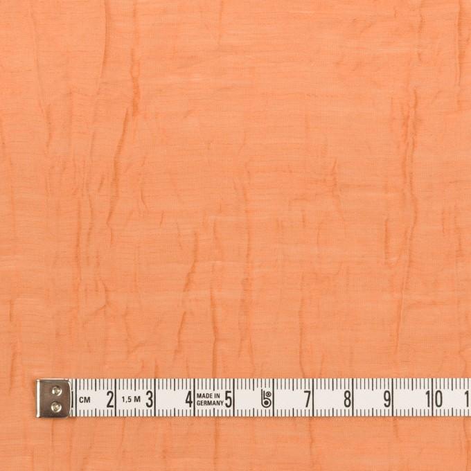 コットン&ナイロン×無地(オレンジ)×オーガンジー・ワッシャー_全3色 イメージ4