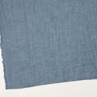コットン&ナイロン×無地(アッシュブルー)×オーガンジー・ワッシャー_全3色 サムネイル2