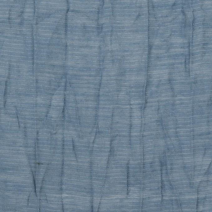 コットン&ナイロン×無地(アッシュブルー)×オーガンジー・ワッシャー_全3色 イメージ1