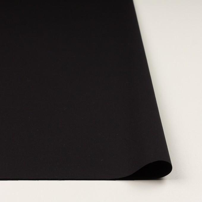 コットン×無地(ブラック)×ギャバジン イメージ3