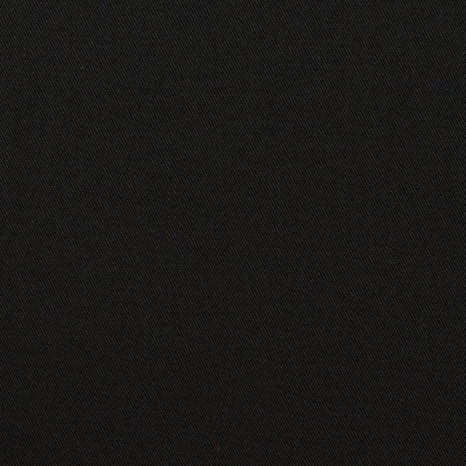 コットン×無地(ブラック)×チノクロス イメージ1
