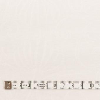 リネン&ナイロン×フラワー(オフホワイト)×オーガンジー・ジャガード_全3色 サムネイル4