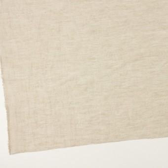 リネン&ナイロン×フラワー(グレイッシュベージュ)×オーガンジー・ジャガード_全3色 サムネイル2