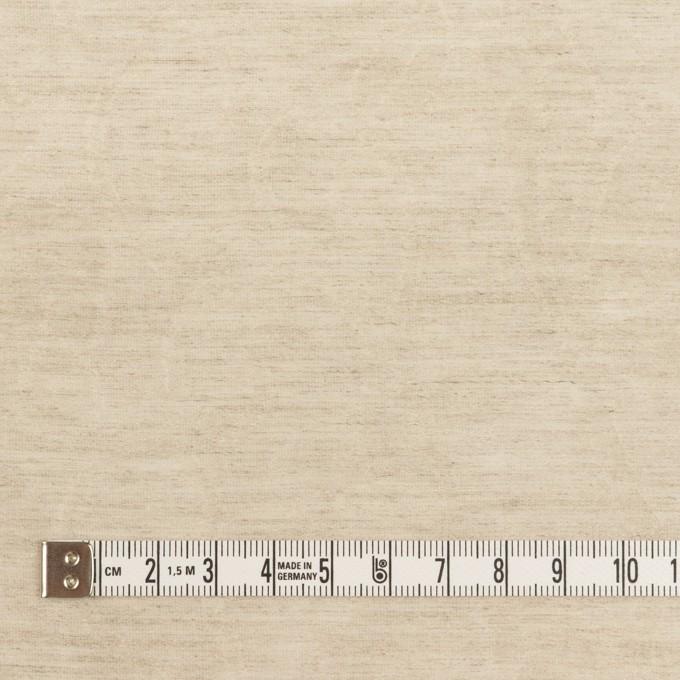 リネン&ナイロン×フラワー(グレイッシュベージュ)×オーガンジー・ジャガード_全3色 イメージ4