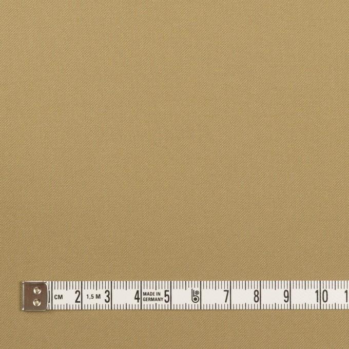 コットン&ポリウレタン×無地(カーキベージュ)×チノクロス・ストレッチ イメージ4