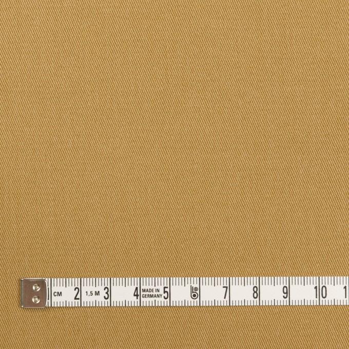 コットン&ポリウレタン×無地(チャイ)×チノクロス イメージ4