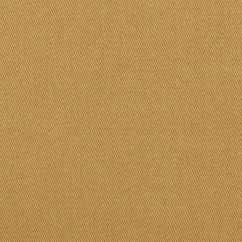 コットン&ポリウレタン×無地(チャイ)×チノクロス
