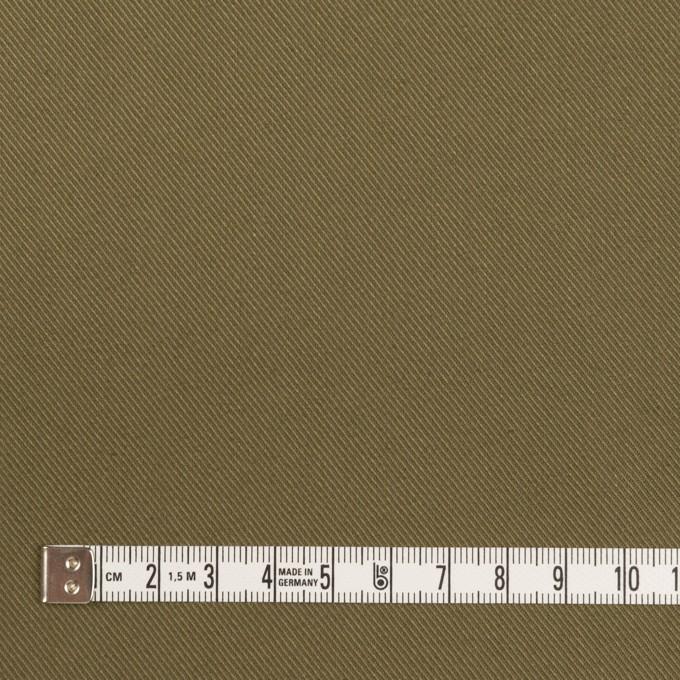 コットン&リネン×無地(カーキグリーン)×チノクロス_全2色 イメージ4