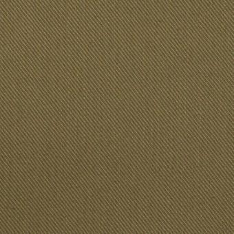 コットン&リネン×無地(カーキグリーン)×チノクロス_全2色