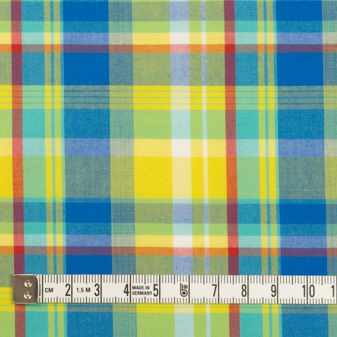 コットン×チェック(シトロン&ブルー)×ブロード イメージ4
