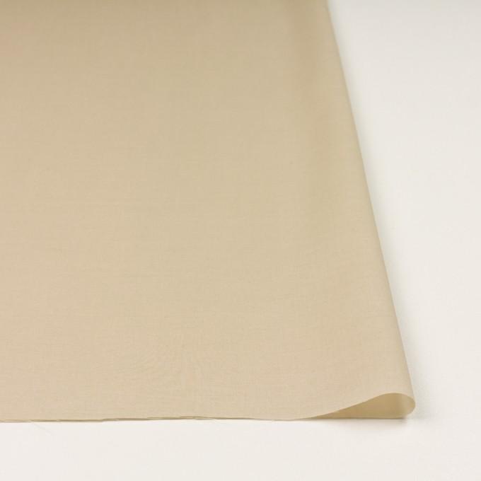 コットン×無地(ベージュ)×ボイル イメージ3