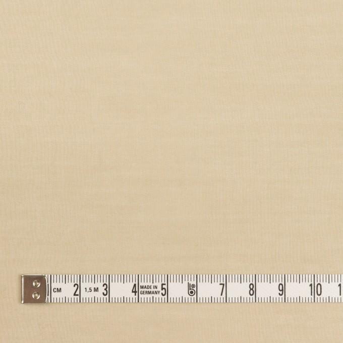 コットン×無地(ベージュ)×ボイル イメージ4