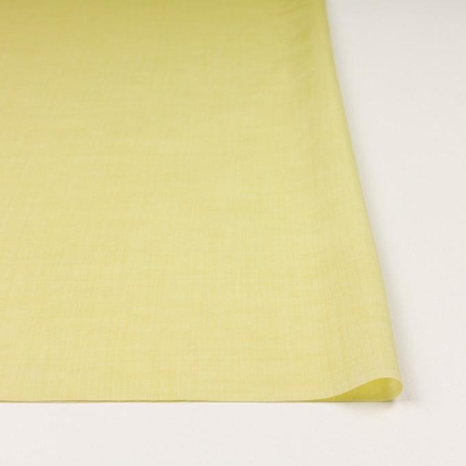 コットン&レーヨン×無地(レモン)×ボイル イメージ3