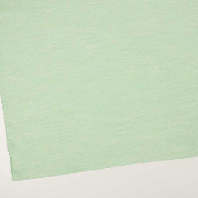 コットン&レーヨン×無地(グリーン)×ボイル イメージ2