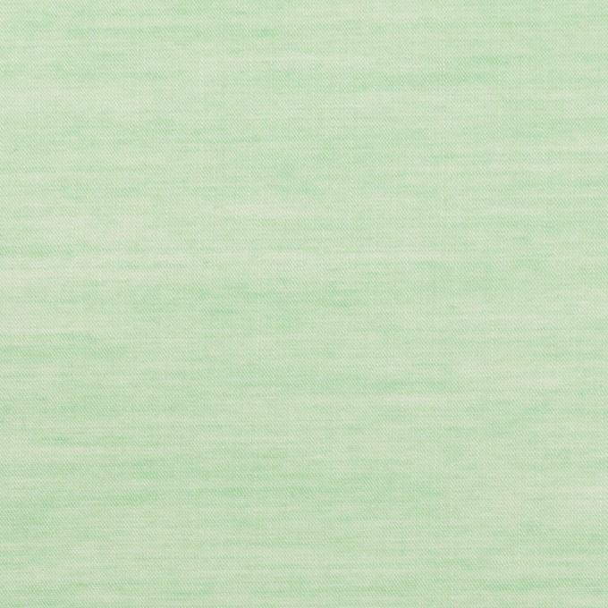 コットン&レーヨン×無地(グリーン)×ボイル イメージ1