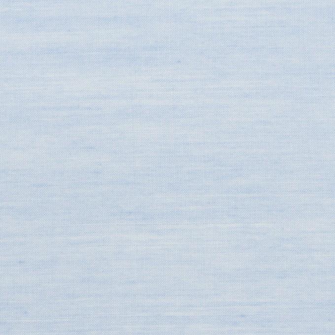 コットン&レーヨン×無地(サックス)×ボイル イメージ1