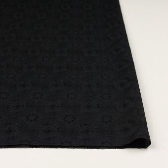 コットン×フラワー(ブラック)×ローン刺繍_全6色 サムネイル3