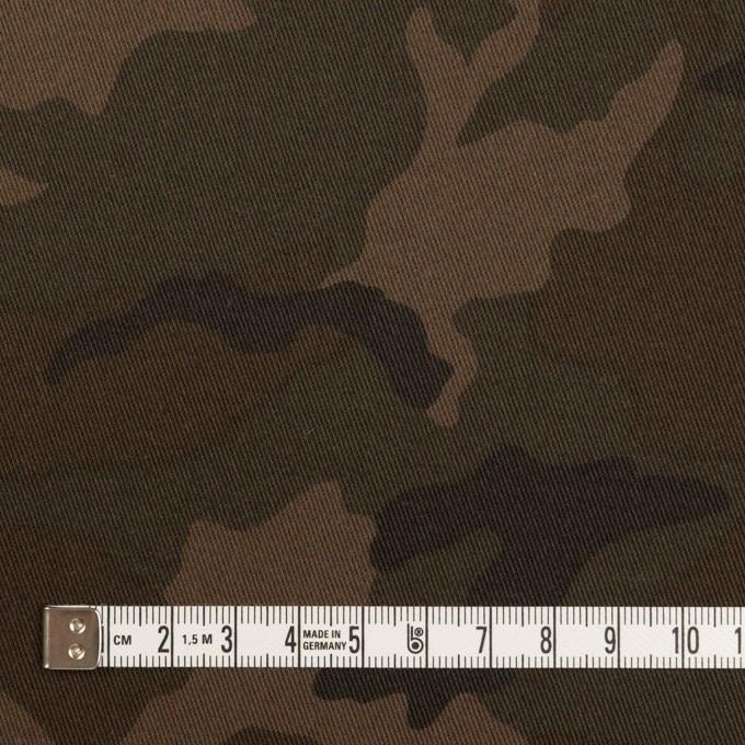 コットン&ポリウレタン×迷彩(カーキブラウン)×チノクロス・ストレッチ_全3色 イメージ4