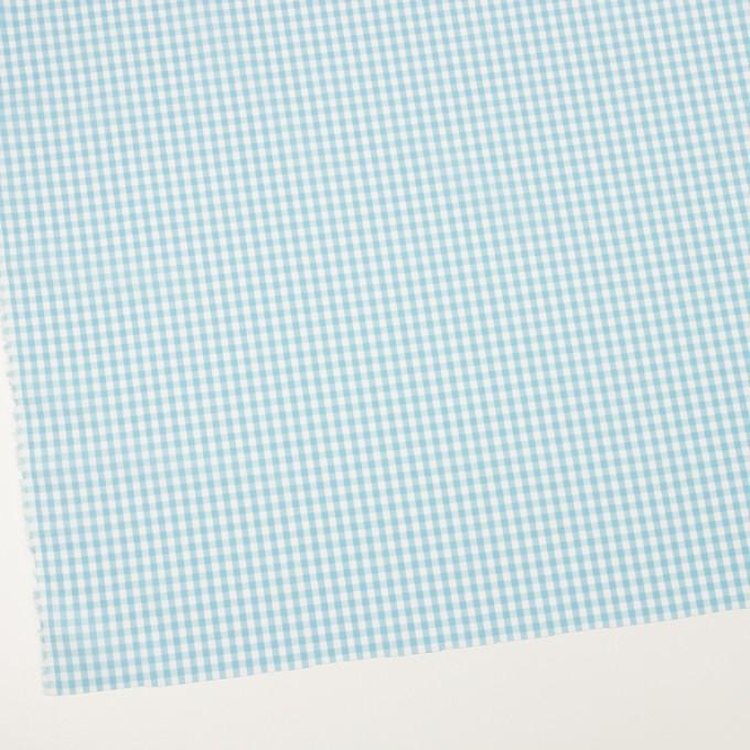 コットン×チェック(サックス)×ブロード_全3色 イメージ2