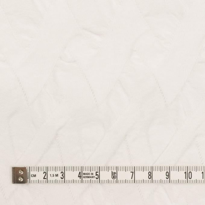 コットン×ウェーブ(ホワイト)×ジャガードニット イメージ4