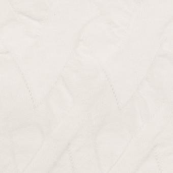 コットン×ウェーブ(ホワイト)×ジャガードニット サムネイル1