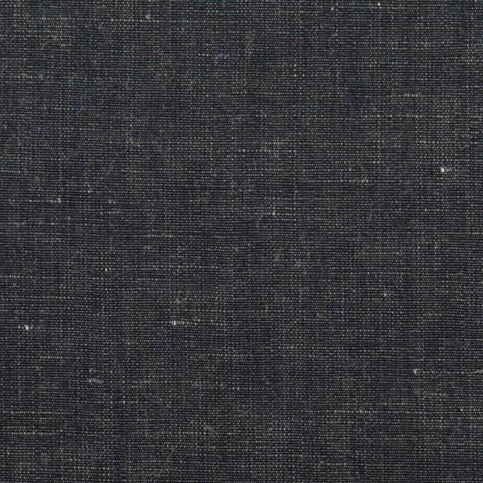 コットン&リネン×無地(インディゴ)×シャンブレー イメージ1