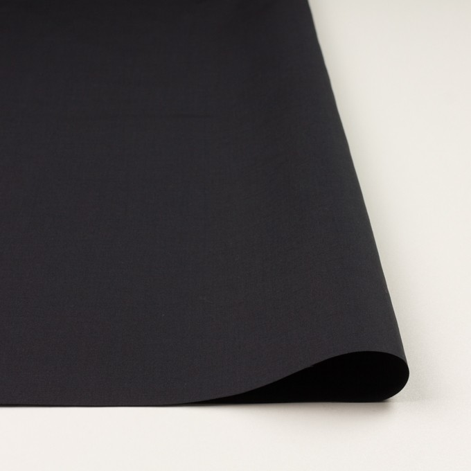コットン&リネン×無地(チャコールブラック)×ポプリン イメージ3
