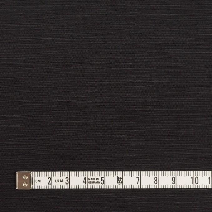 コットン&リネン×無地(チャコールブラック)×ポプリン イメージ4