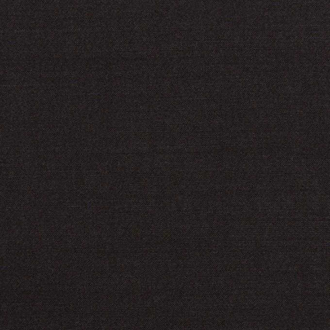 ラミー&ナイロン×無地(ブラック)×ポプリン イメージ1