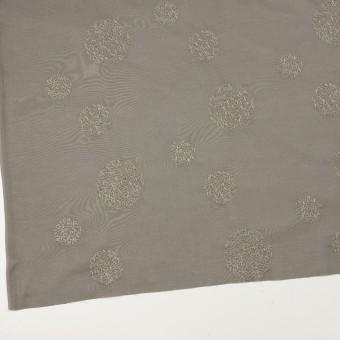 コットン×サークル(モスグレー)×ローン刺繍_全4色 サムネイル2