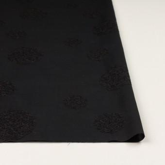 コットン×サークル(ブラック)×ローン刺繍_全4色 サムネイル3