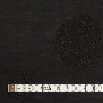 コットン×サークル(ブラック)×ローン刺繍_全4色 サムネイル4