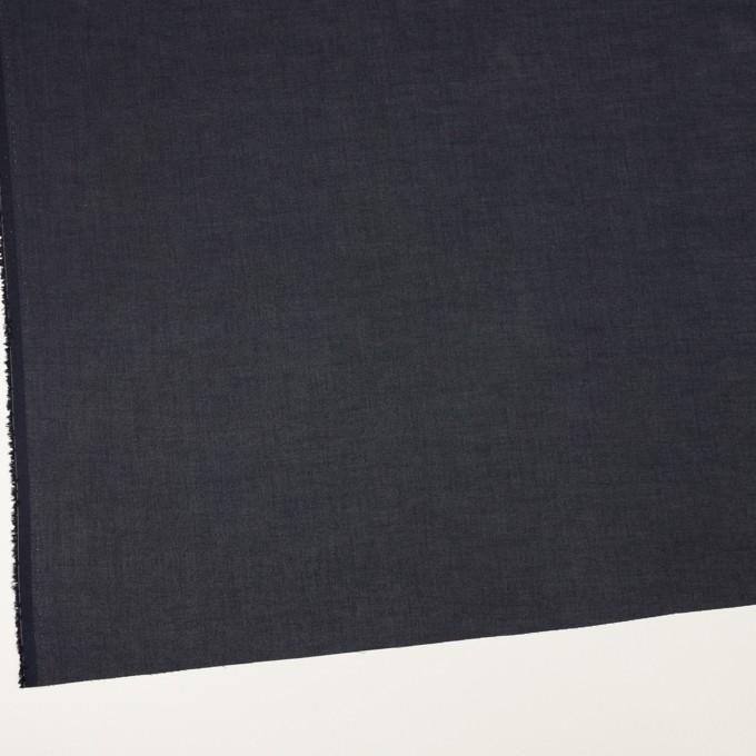 コットン×無地(ダークネイビー)×ボイル_全3色 イメージ2