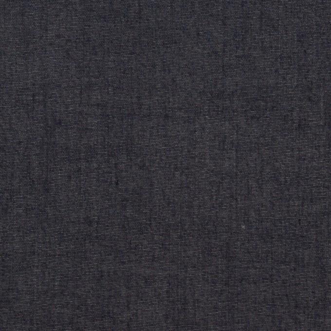 コットン×無地(ダークネイビー)×ボイル_全3色 イメージ1