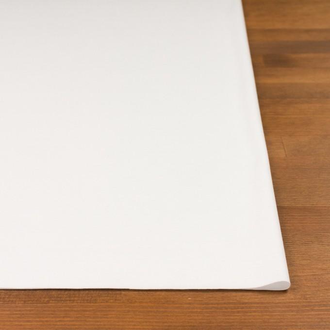 コットン&モダール×無地(ホワイト)×スムースニット_全2色 イメージ3