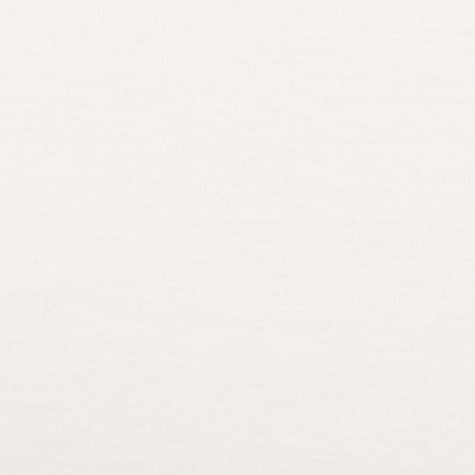 コットン&モダール×無地(ホワイト)×スムースニット_全2色 イメージ1