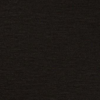 コットン&モダール×無地(ブラック)×スムースニット_全2色
