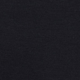 コットン&レーヨン×無地(ダークネイビー)×裏毛ニット サムネイル1